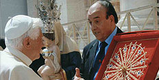 Maestro Spadafora incontra Papa Benedetto XVI
