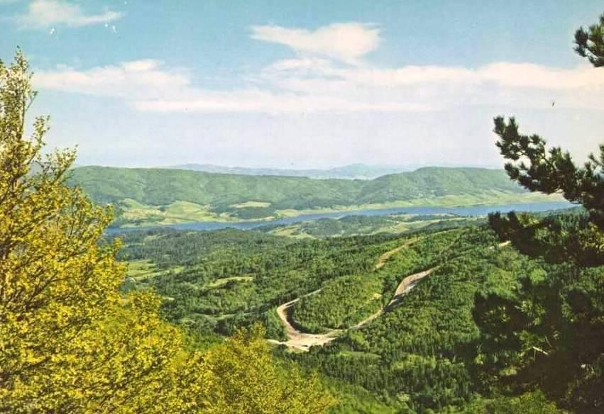 Lago Arvo visto da C.da Vespa