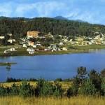 Lago Arvo con in fondo Lorica
