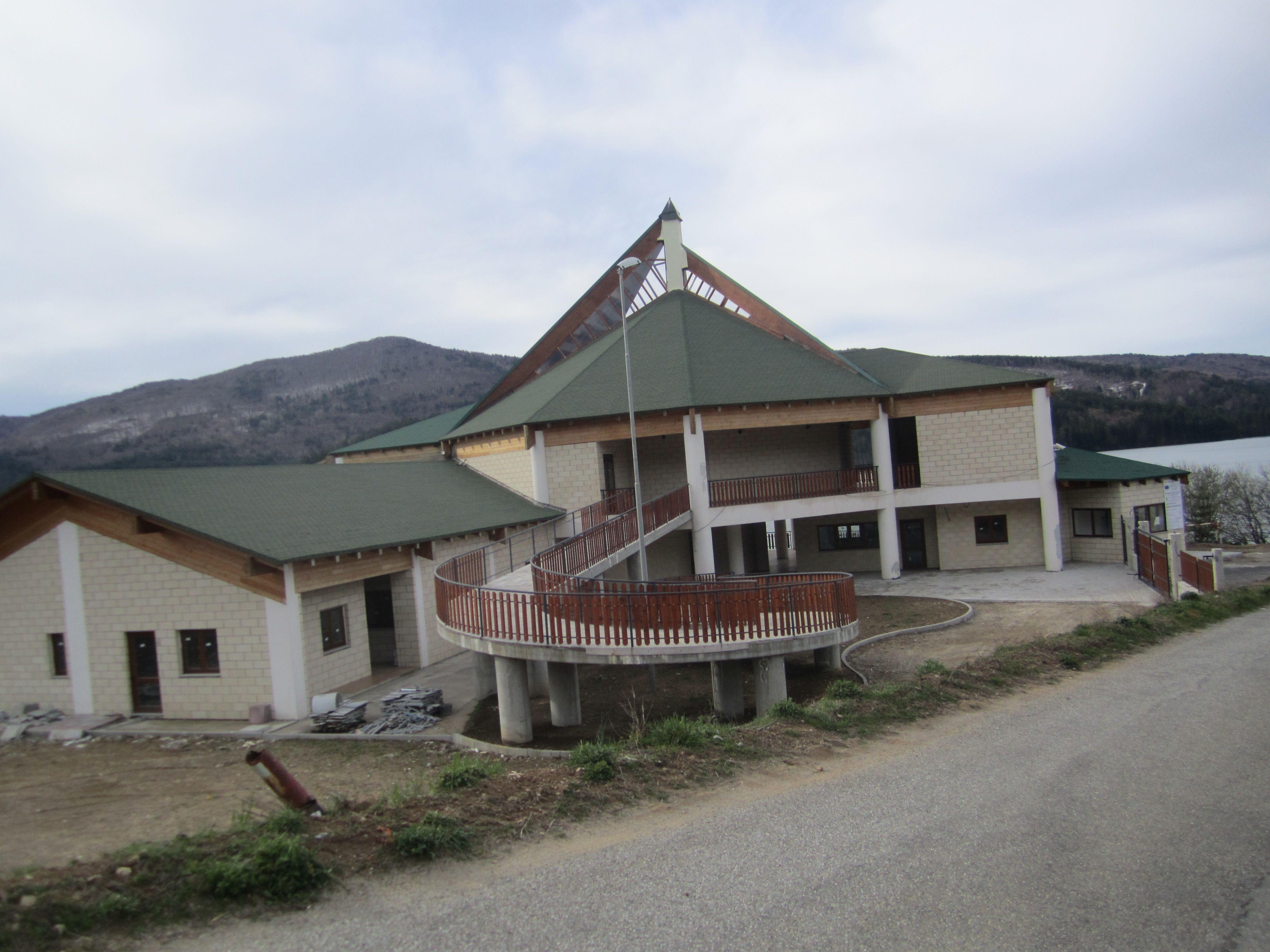 Centro di canottaggio sul Lago Arvo Lorica
