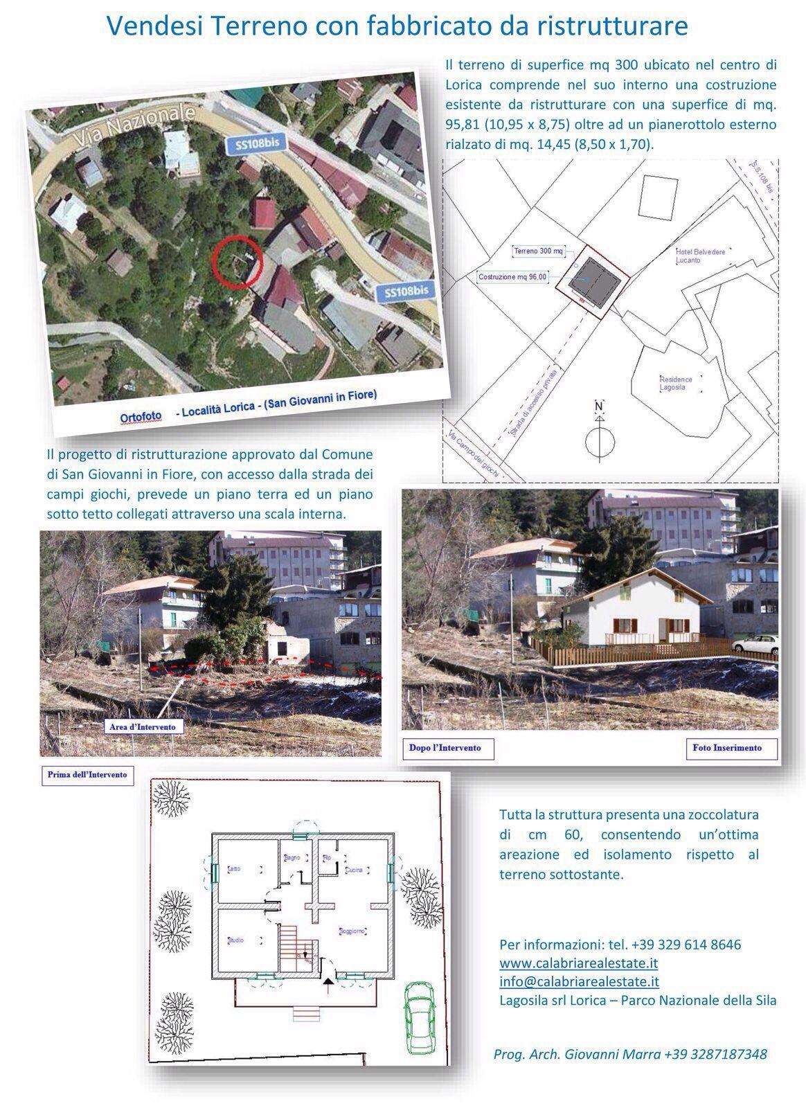 Vendita terreno a Lorica